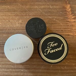 Travel Size Loose Powders! KVD, Too Faced,Cover FX